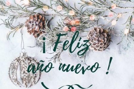 ¡ Feliz  año nuevo !
